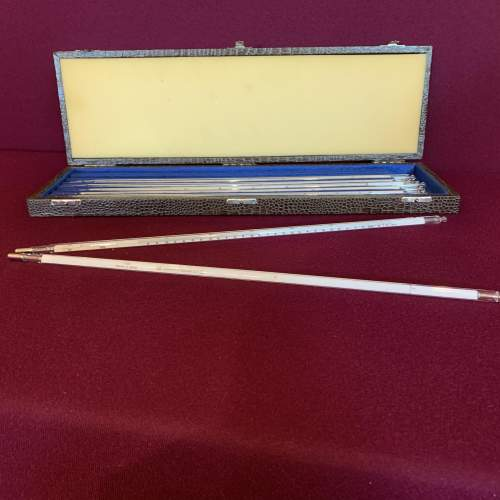 Set of East German Scientific Thermometers image-4