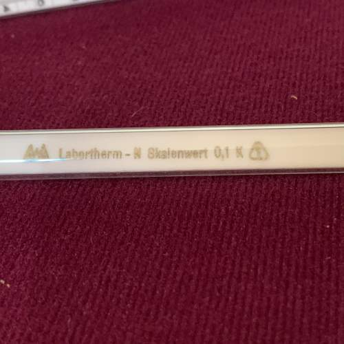 Set of East German Scientific Thermometers image-6