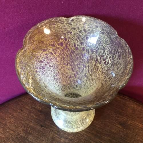 Large Vasart Scottish Glass Vase image-2