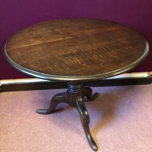 Early 19th Century Dark Oak Supper Table