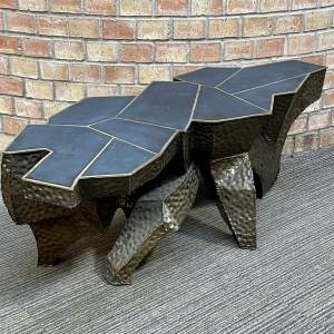 Paul Kingma Brutalist Coffee Table