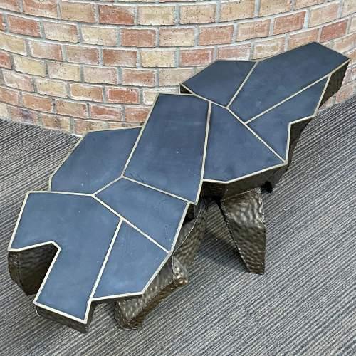 Paul Kingma Brutalist Coffee Table image-2