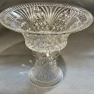 Libochovice Glass Bowl on Stand