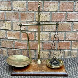 Antique Avery Scales and Weights Set