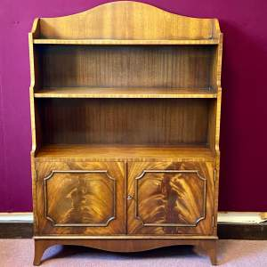 Quality 20th Century Cabinet Bookcase by Bevan and Funnell