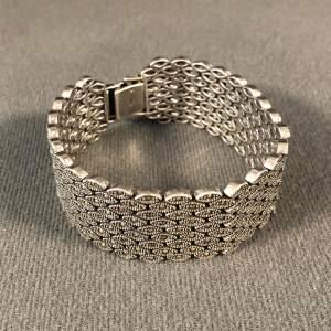 Silver Marcasite Bracelet