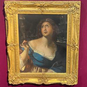19th Century Pastel Portrait in the Manner of Guido Reni