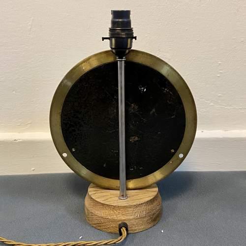 Large Pressure Gauge Clock Lamp image-5