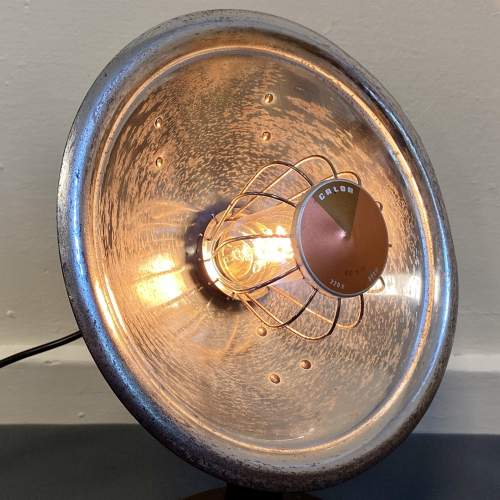 Alsthom Heat Lamp converted to a Desk Lamp image-2