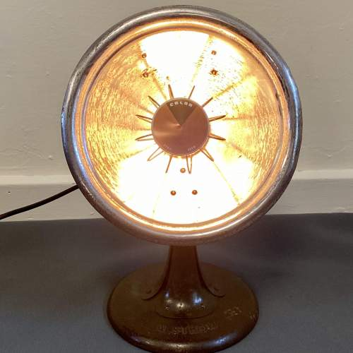 Alsthom Heat Lamp converted to a Desk Lamp image-3