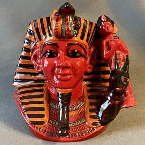 Royal Doulton Flambé The Pharaoh Character Jug