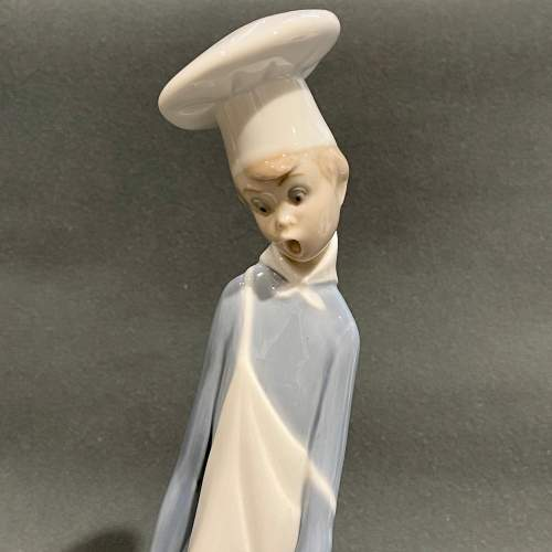 20th Century Lladro Figurine Cook in Trouble image-2