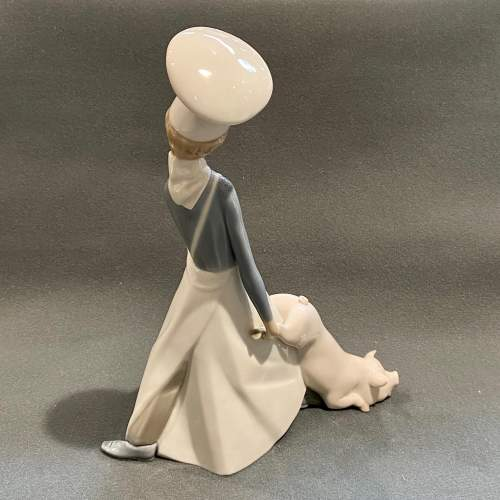 20th Century Lladro Figurine Cook in Trouble image-4