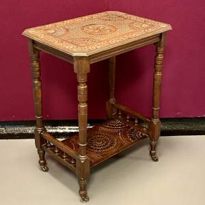 Victorian Carved Hall or Side Table