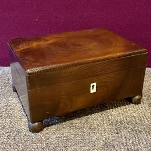 Small Laburnum Wood Box
