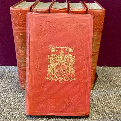19th Century Six Volumes of Queens of Scotland and English Princesses image-2