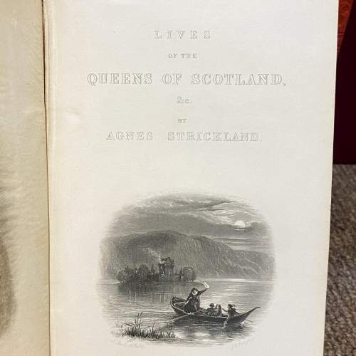 19th Century Six Volumes of Queens of Scotland and English Princesses image-4