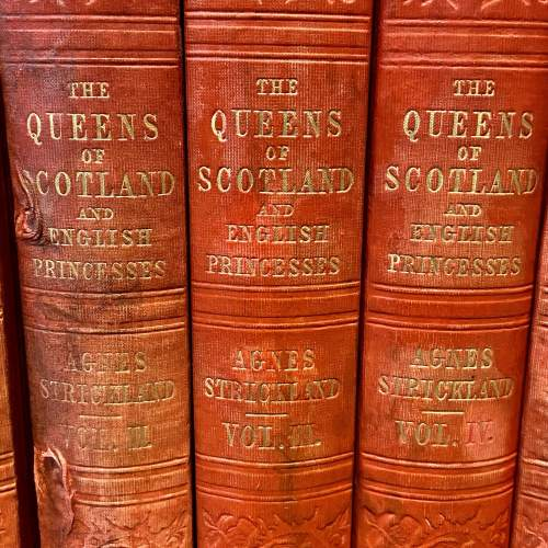 19th Century Six Volumes of Queens of Scotland and English Princesses image-3