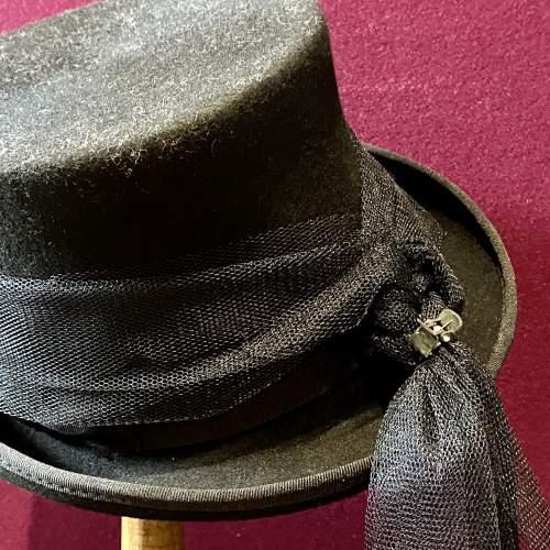 Vintage Ladies Top Hat image-3