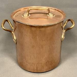 Georgian Copper Cooking Pot