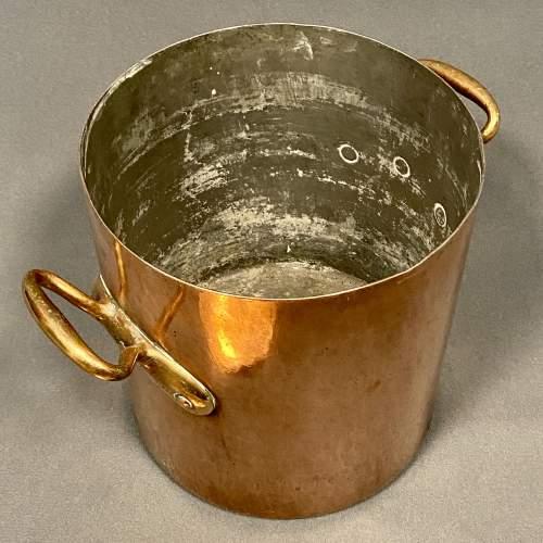 Georgian Copper Cooking Pot image-3