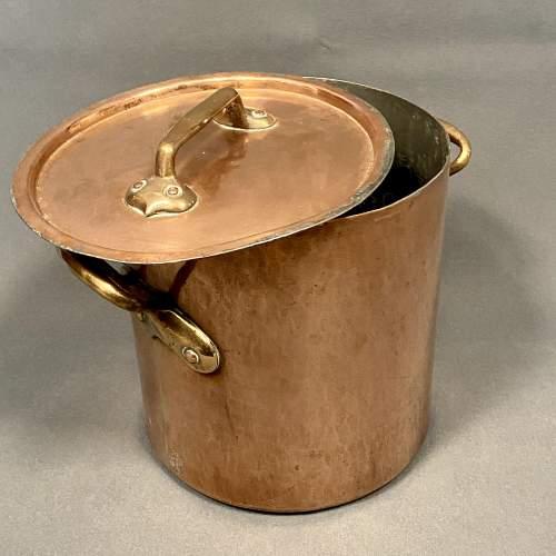 Georgian Copper Cooking Pot image-4