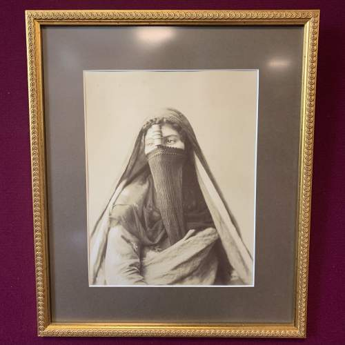Photographic Print of an Egyptian Lady image-1