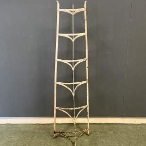 Vintage Strap Iron Pan Stand