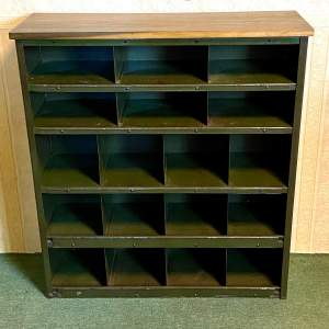 Industrial Military Metal Shelving Unit