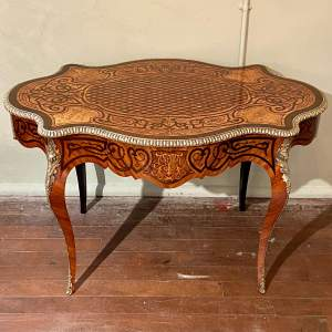 French Bureau Plat Writing Table