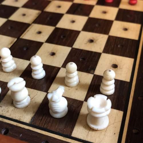 Edwardian Travel Chess Set image-5