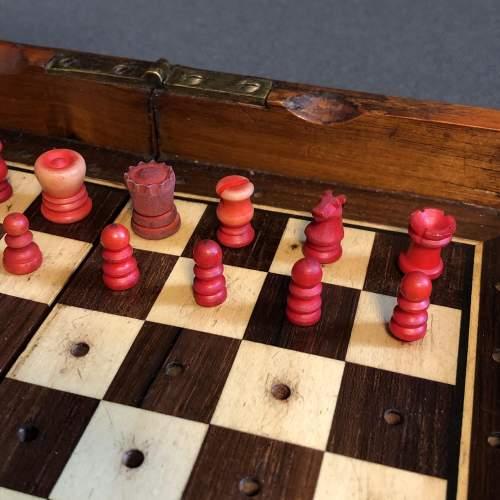Edwardian Travel Chess Set image-6
