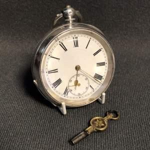Edwardian Silver Cased Pocket Watch