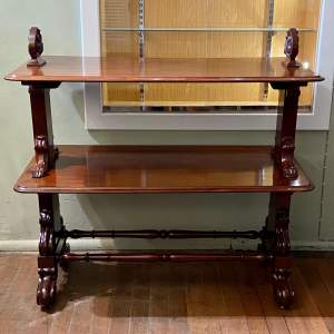 Victorian Mahogany Buffet Server