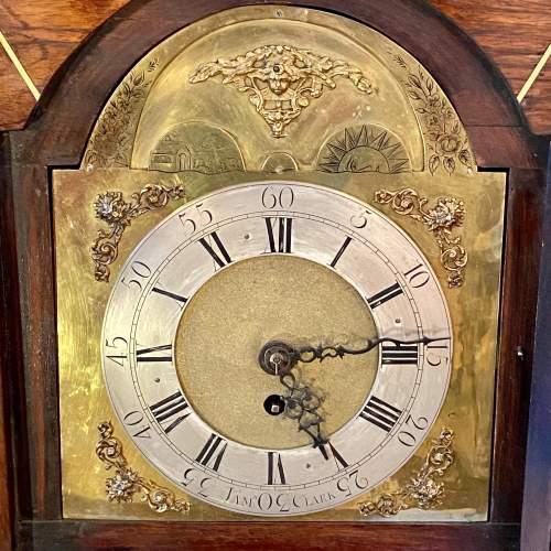 Early 19th Century James Clark Mahogany Bracket Clock image-3