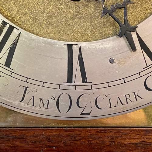 Early 19th Century James Clark Mahogany Bracket Clock image-4