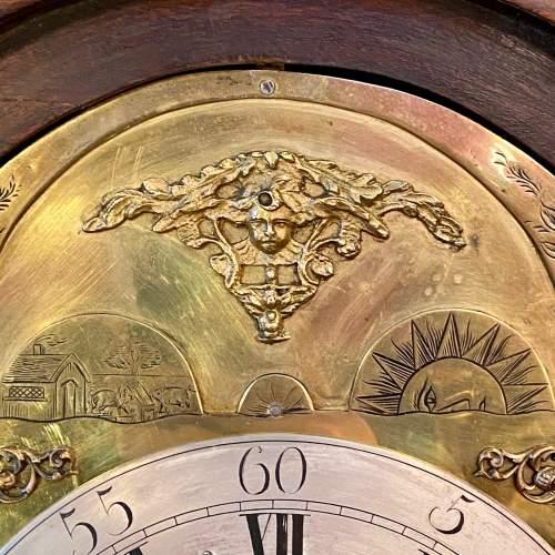 Early 19th Century James Clark Mahogany Bracket Clock image-5