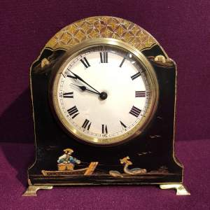 Art Deco Chinoiserie Mantel Clock
