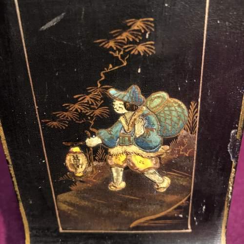 Art Deco Chinoiserie Mantel Clock image-6