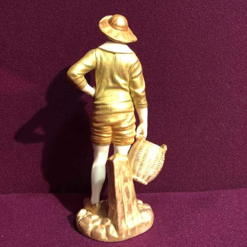 Royal Worcester Figurine of a French Fisher Boy image-5
