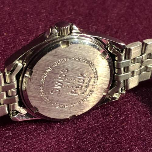 Ladies Tissot Bi-Metal Quartz Day Date Wristwatch image-2