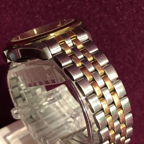 Ladies Tissot Bi-Metal Quartz Day Date Wristwatch image-4
