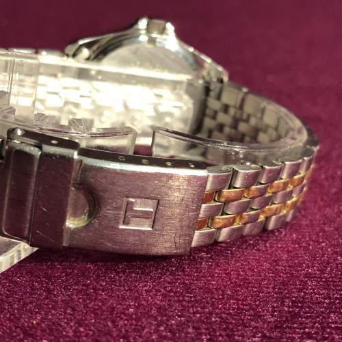 Ladies Tissot Bi-Metal Quartz Day Date Wristwatch image-6