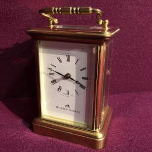 Swiss Made Carriage Clock