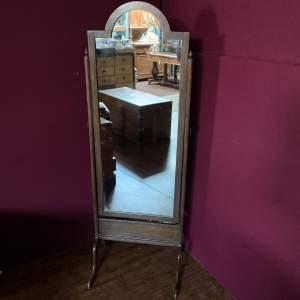 Oak Cheval Dressing Mirror