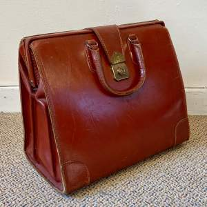 Vintage Leather Doctors Bag