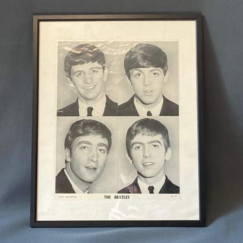 Mid 20th Century The Beatles Photograph Poster image-1