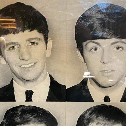 Mid 20th Century The Beatles Photograph Poster image-4