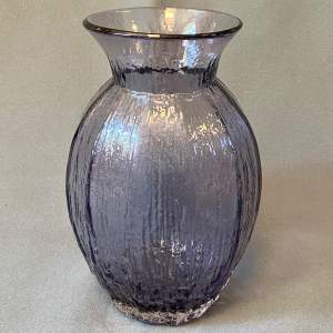 Large Whitefriars Glass Tulip Vase