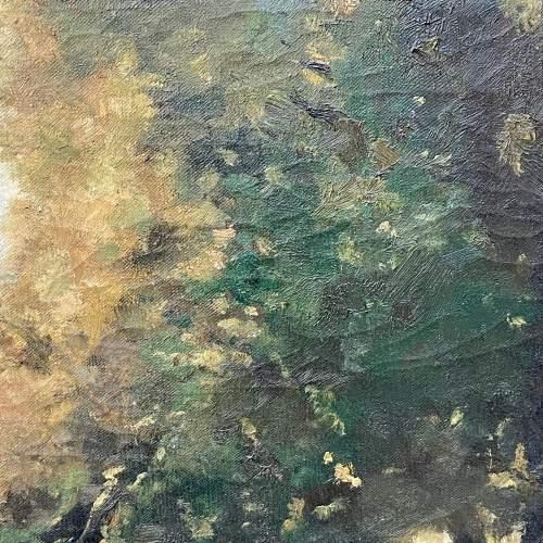 Original Landscape Oil Painting on Canvas by R Klein image-3